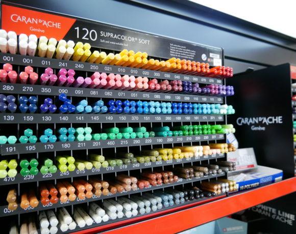 Papeterie Arlon et Virton: large gamme de produits artistiques, pinceaux, peinture, acrylique, crayons