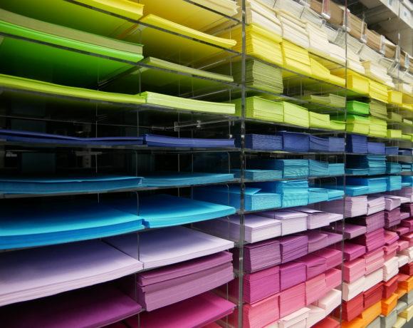 Papeterie à Arlon et Virton: papiers couleur