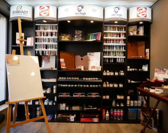 Papeterie Arlon et Virton: large gamme de produits artistiques, pinceaux, peinture, acrylique